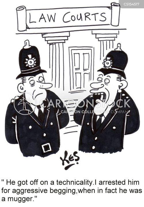 no justice cartoon