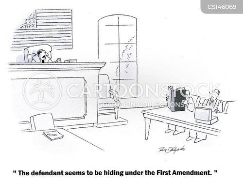 first amendments cartoon