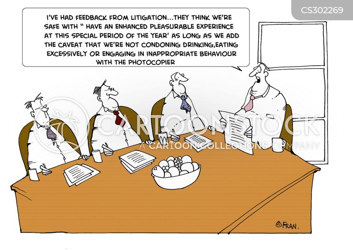 managed cartoon