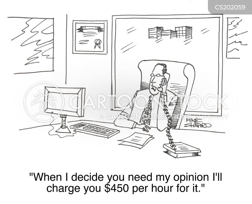 legal fee cartoon