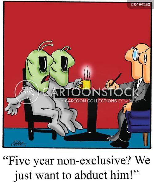 contract negotiations cartoon