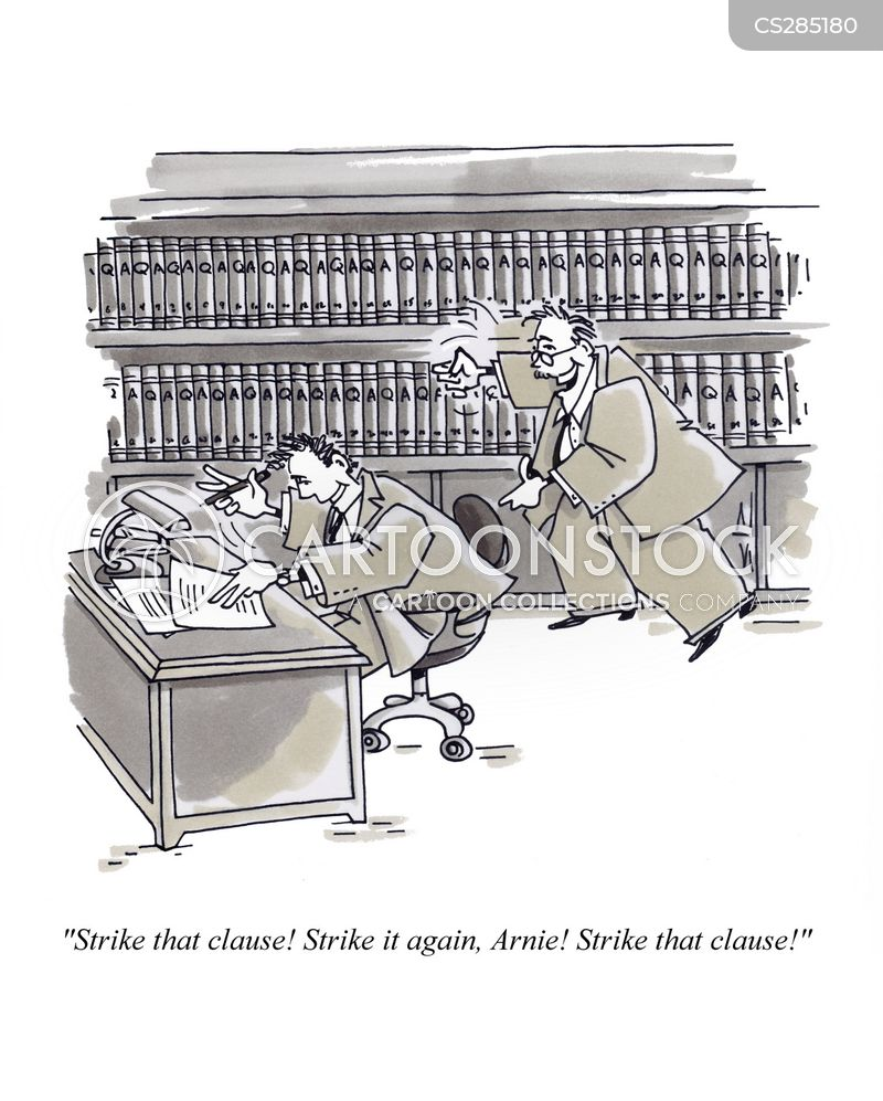 law partner cartoon