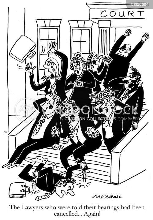 postponements cartoon