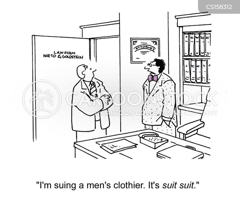 clothier cartoon