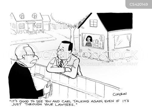 bad neighbors cartoon