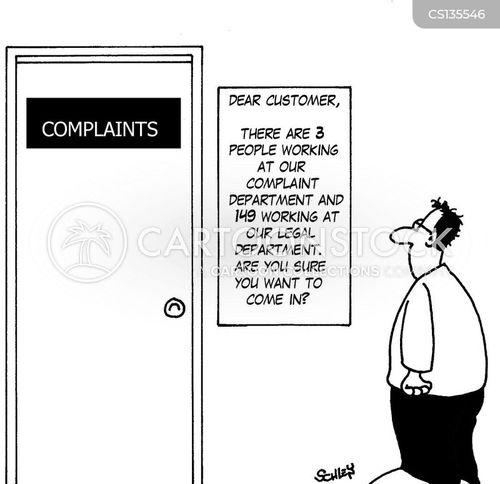 deterring cartoon