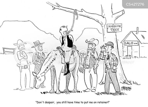 lynch mob cartoon
