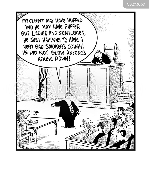 prosecutions cartoon