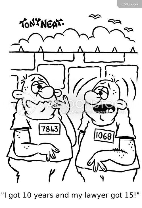 prison sentence cartoon