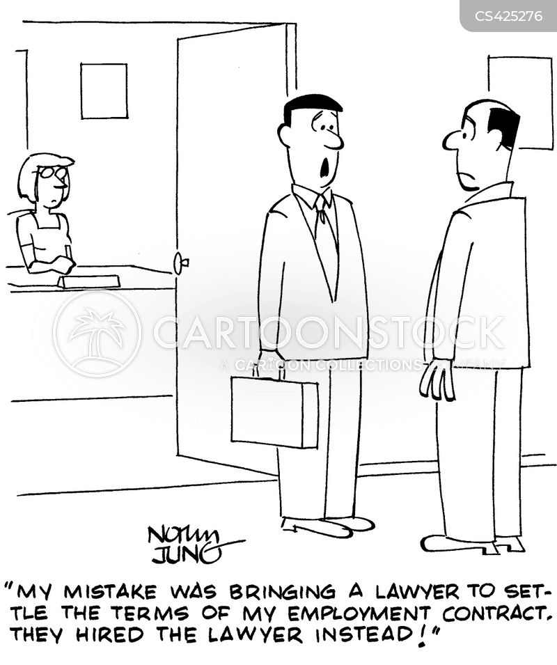 Employment Contracts Cartoons And Comics - Funny Pictures From