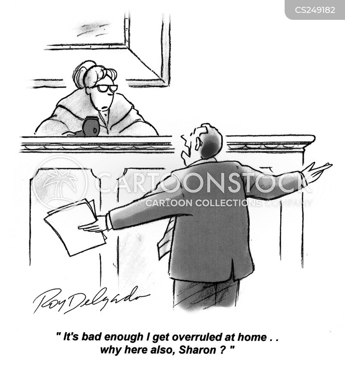 overruled cartoon
