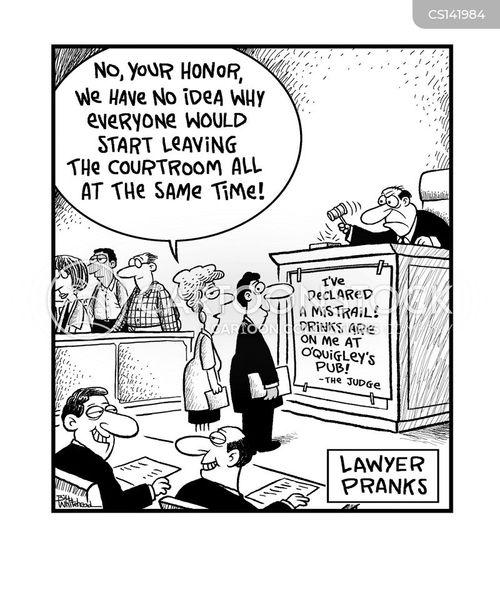 mistrials cartoon