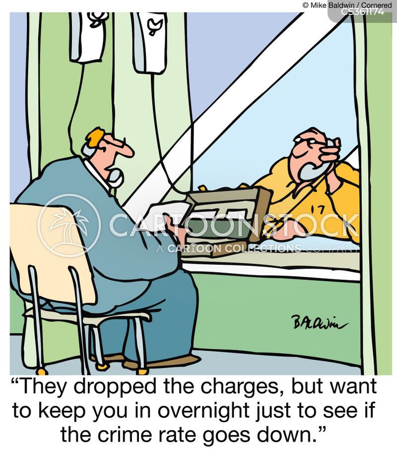 dropped the charges cartoon