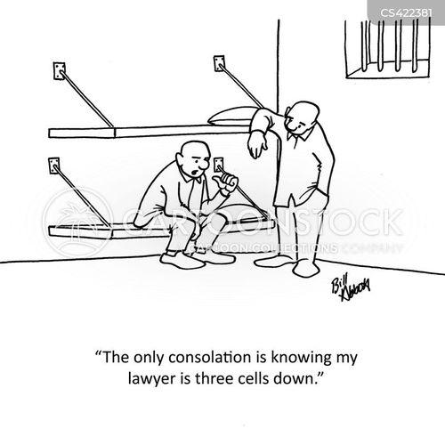 defence attorney cartoon