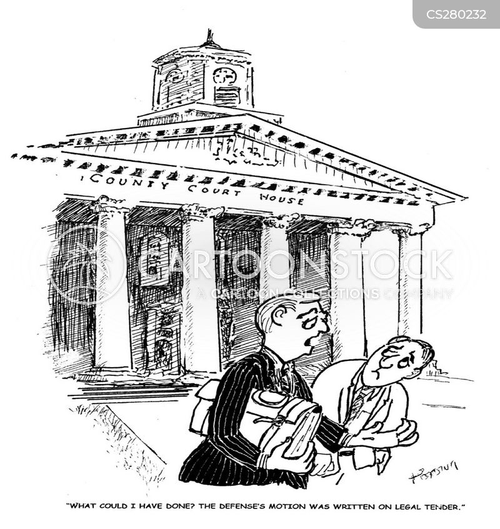 legal tender cartoon