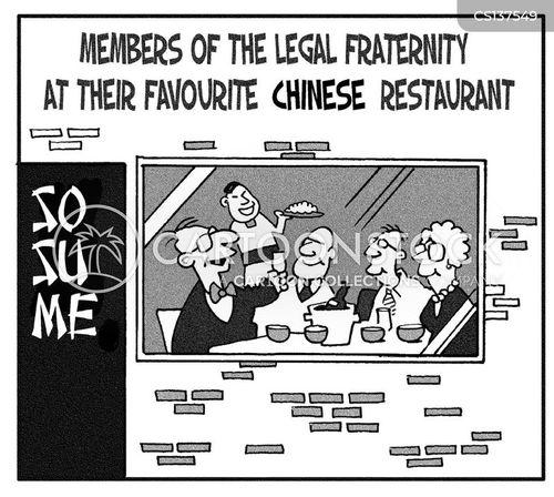 favourite restaurants cartoon
