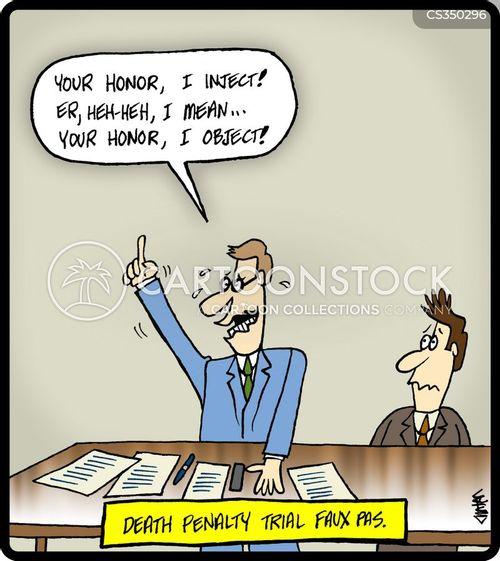 court trials cartoon