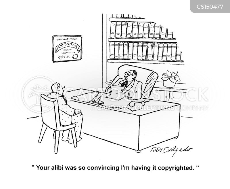 copyrighted cartoon