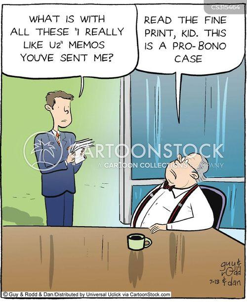 pro-bono cartoon