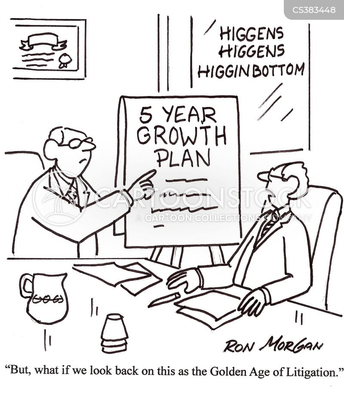 growth plan cartoon