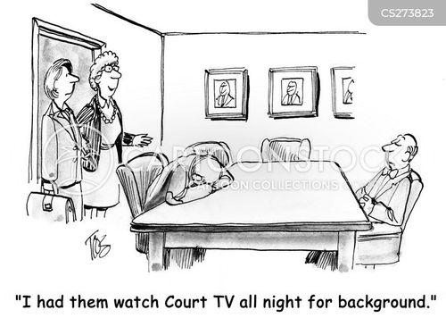 unlawful cartoon