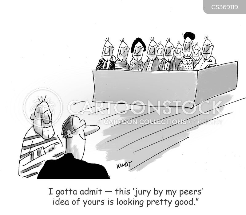 Jury Selection Cartoons and Comics - funny pictures from