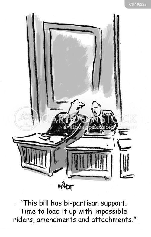 amendment cartoon