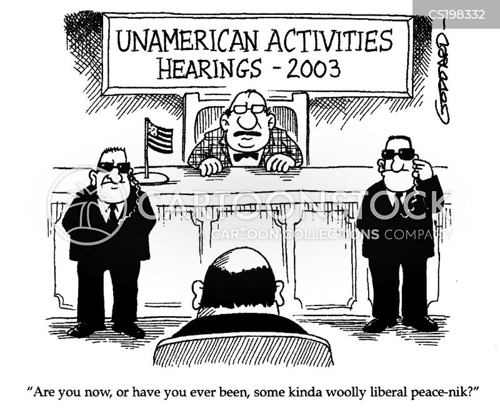 court hearing cartoon