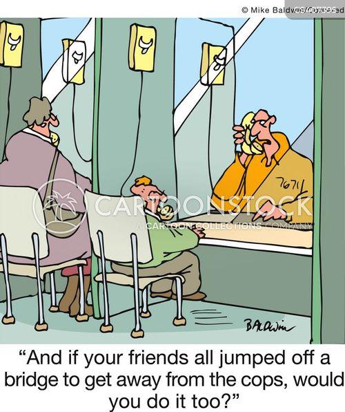peer pressures cartoon