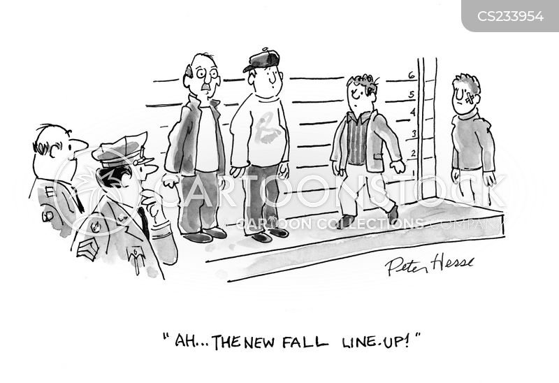 fall line up cartoon