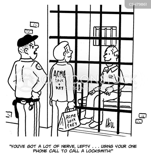 lock ups cartoon