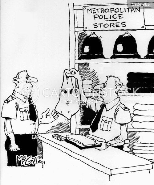 Funny racist police cartoons