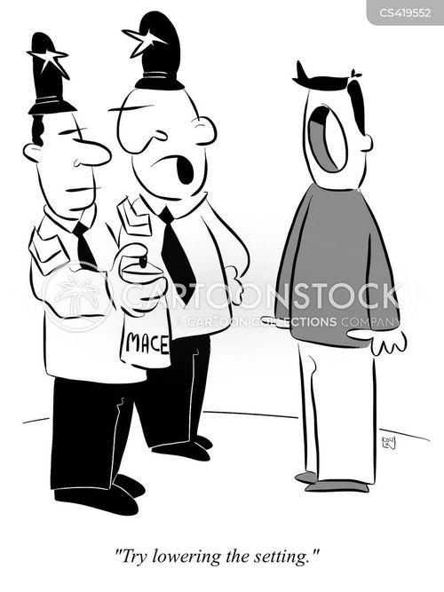 mace cartoon
