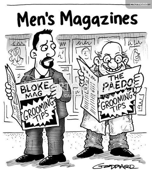 grooming tip cartoon