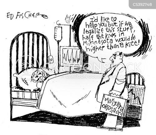cannabis opposition cartoon