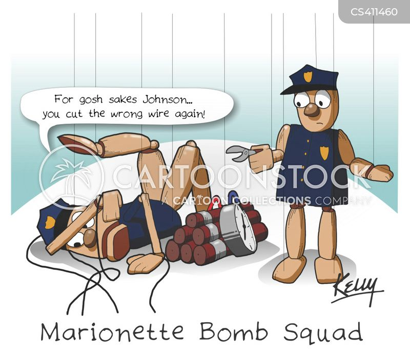 bomb squad cartoon