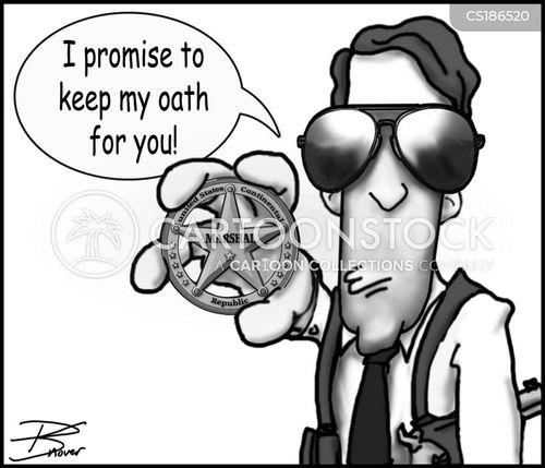 law officer cartoon