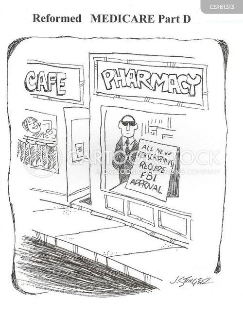 healthcare fraud cartoon