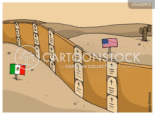 mexico border cartoon