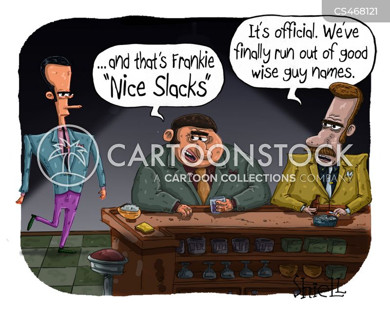 the syndicate cartoon