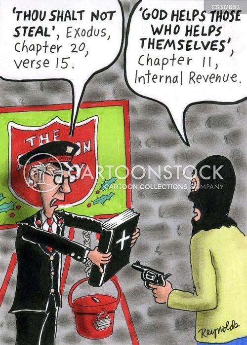 salvation army cartoon