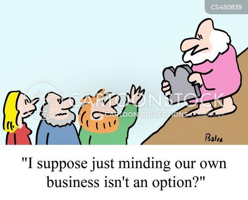 healthy attitude cartoon