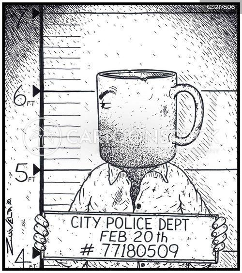 crockery cartoon