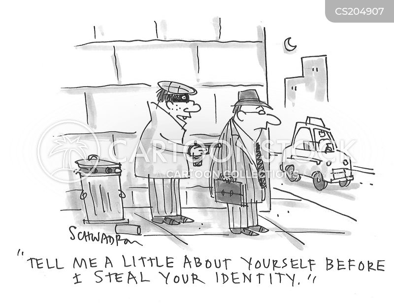 social security numbers cartoon