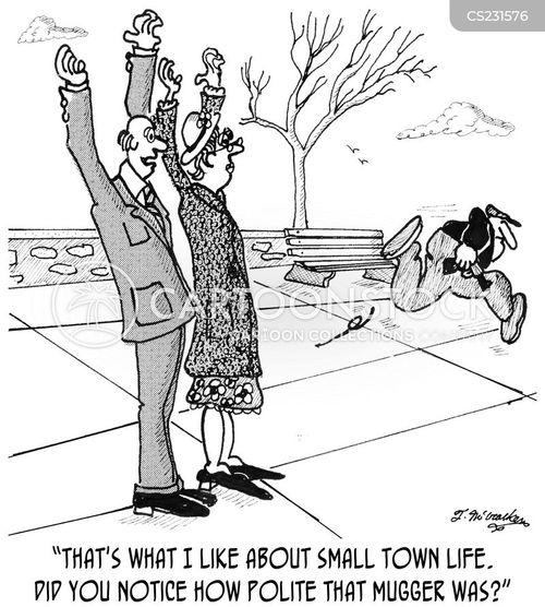 country life cartoon