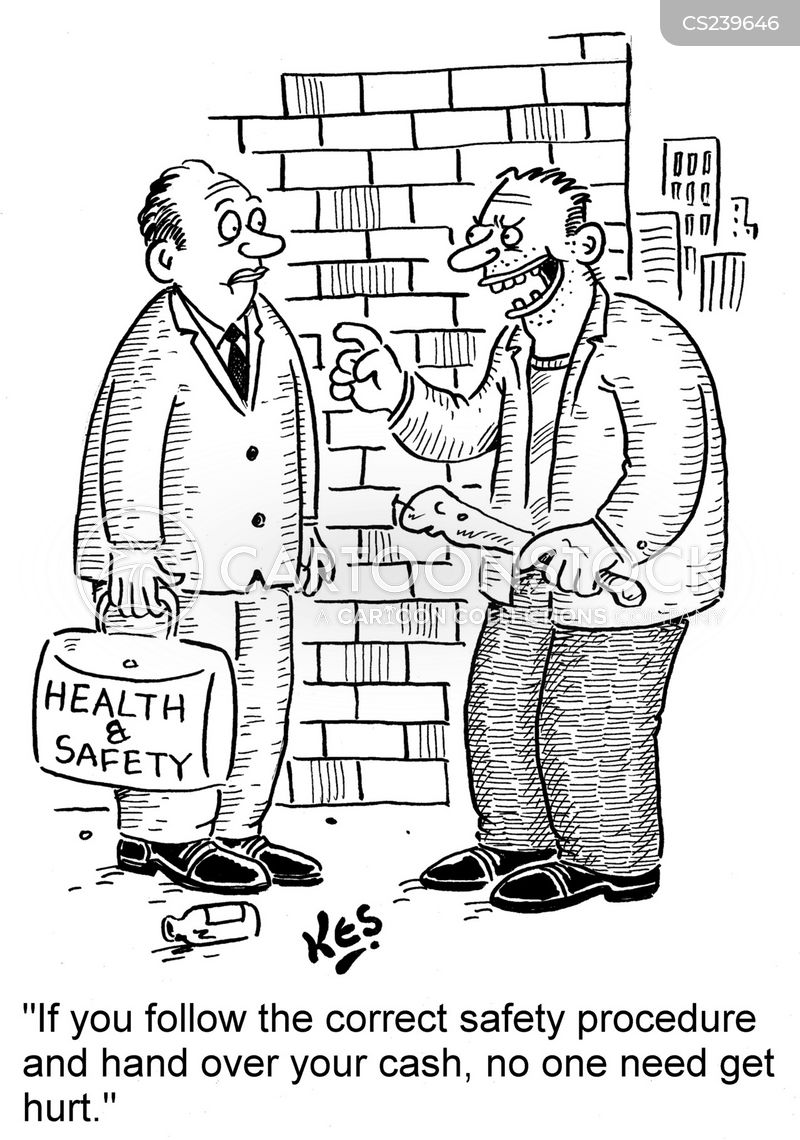 Procedure Cartoons Safety Procedures Cartoon 9 of