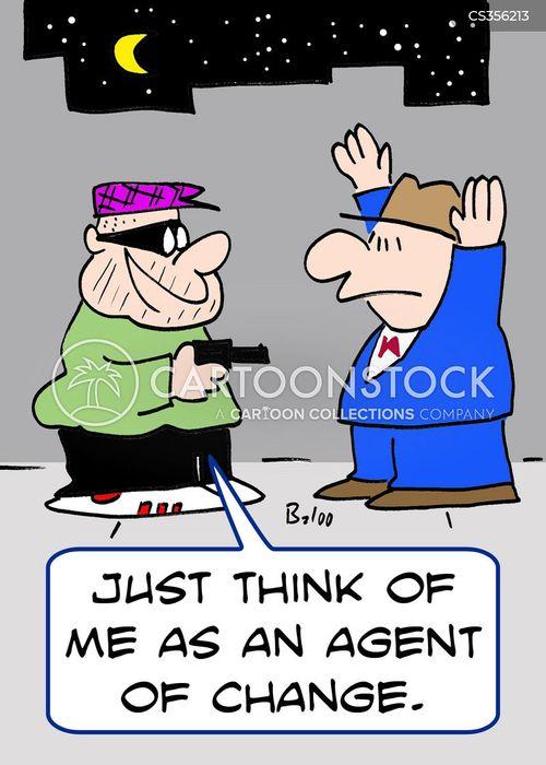 agent of change cartoon