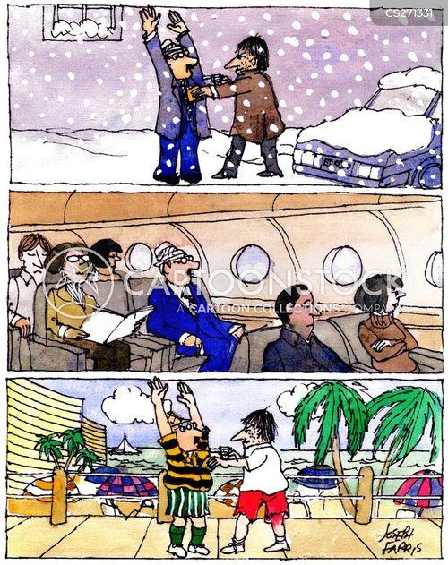 emigration cartoon