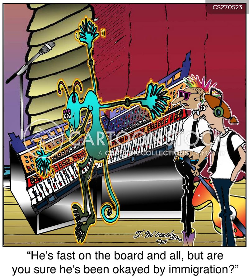 Key Board Cartoons and Comics - funny pictures from CartoonStock