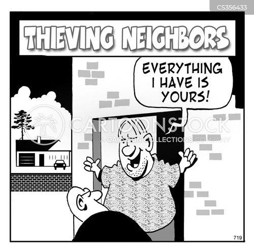 burgles cartoon